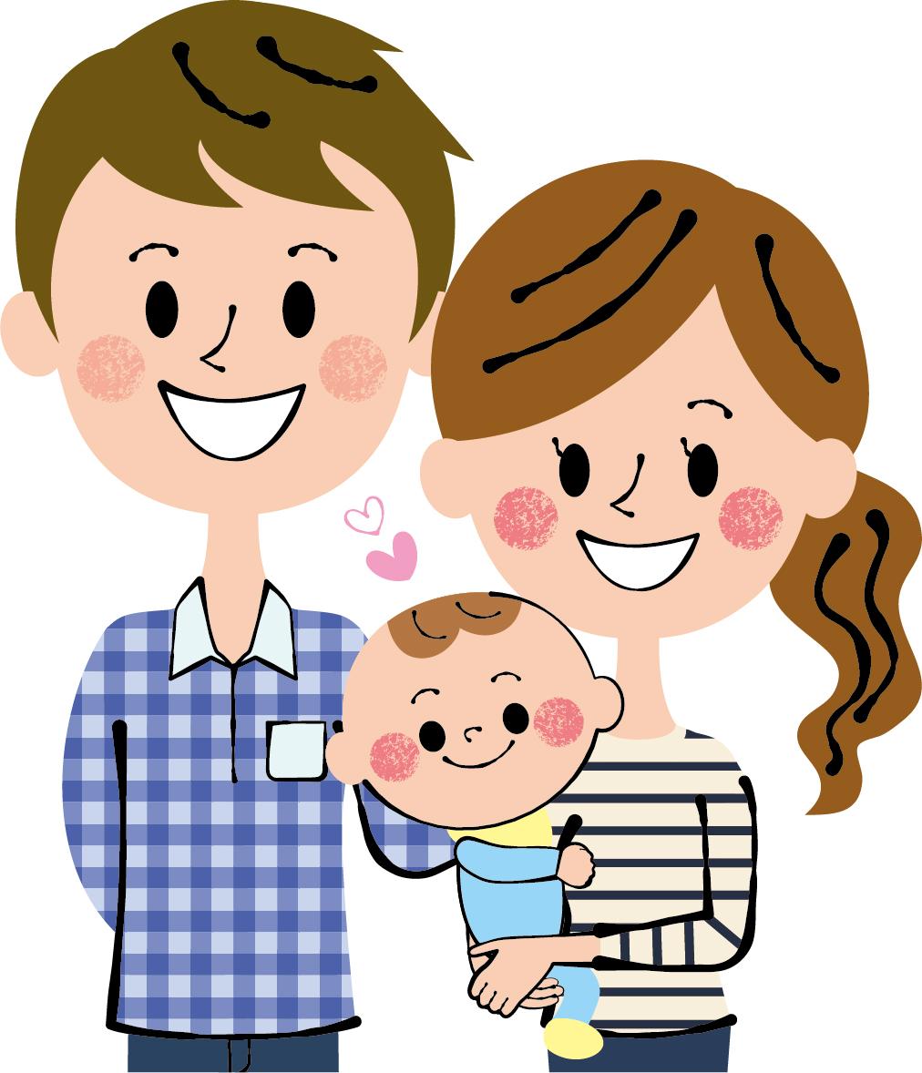 赤ちゃん家族